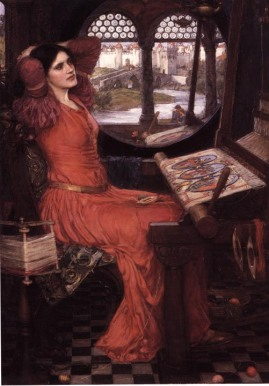 "Waterhouse, ""I Am Half-Sick of Shadows,"" Said the Lady of Shalott, 1915."