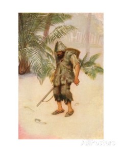 robinson-crusoe-sees-a-footprint-in-the-sand-i-stood-like-one-thunderstruck-colour-illustration