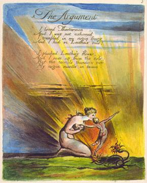 the revolutionary visions of william blake essay Essay on william blake   what is unique in this poem is that the two contrary visions are presented evenly in one poem  'romanticism was revolutionary.