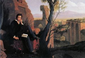 800px-Joseph_Severn_-_Posthumous_Portrait_of_Shelley_Writing_Prometheus_Unbound_1845