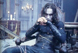 The Crow is a popular modern incarnation of the Byronic Hero.