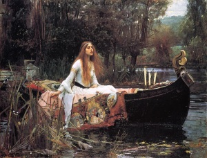 John Williams Waterhouse, The Lady of Shalott, 1888. Tate Gallery.