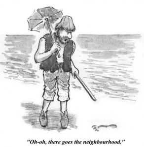 Robinson Crusoe isn't Alone