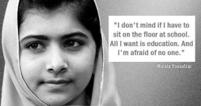 The young advocate for women's right to education