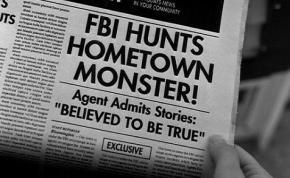 X-Files newspaper