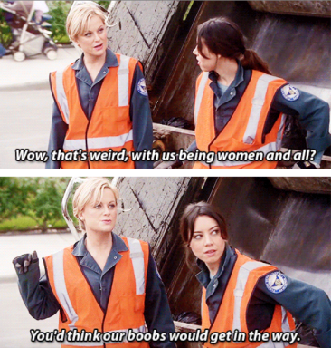 Knope garbage lady